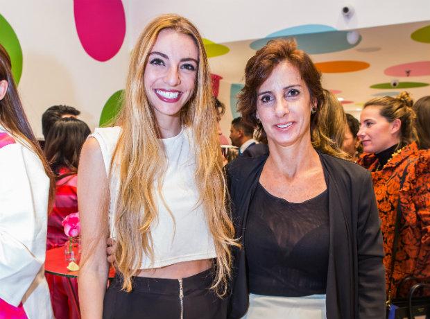Michelle Yidios y Nohora Hakim.