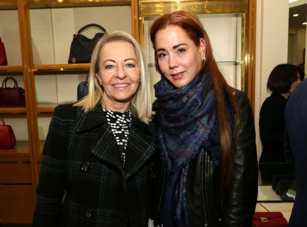 <div>Miriam Patiño y Alejandra Vélez.</div>