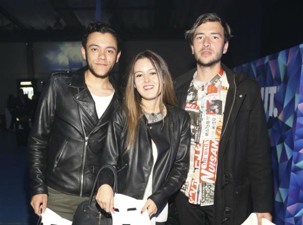 Sebastián Molinares, Sonia Mendoza y Camilo París.