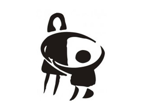 Logo 'Casa de la madre y el niño', programa de adopción (1992).