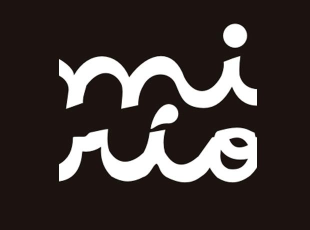 Logo 'Mi Río', programa de mejoramiento del río Medellín (1992).