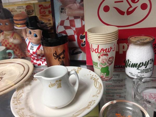 Objetos de colección de Wimpy.