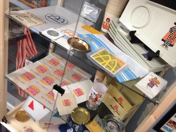 Reliquias de McDonald's, Burger King y Burger Chef.