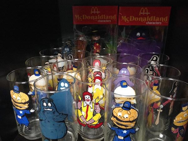 Vasos de colección Ronald McDonald.