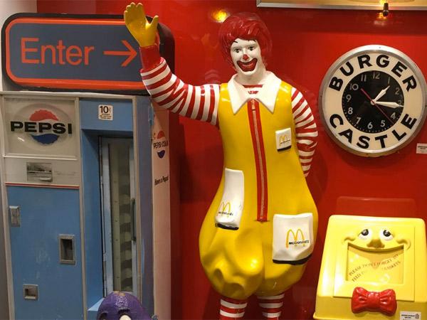 Payaso de McDonald's.