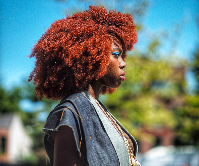 """Nestreya dijo: Yo soy lo que ellos han llamado un """"modelo urbano"""". """"Decidí crear mi propia marca mi propia apariencia y gracias a Dios por los medios de comunicación social, es más fácil para mí expresarme en todos los sentidos. Poco demasiado, así que no estoy perdiendo mi peso."""