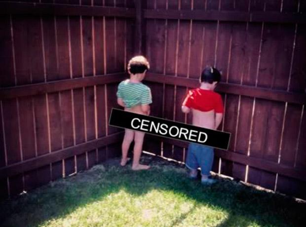 Una madre en Estados Unidos le pareció gracioso poner una banda de censura en sus hijos. Sin embargo, Facebook no le causó gracia y le informó que esa cinta viola los términos y condiciones de la red social.