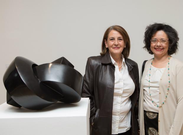 <div>Alba Lucía Campuzano e Isabel Crizón.</div>