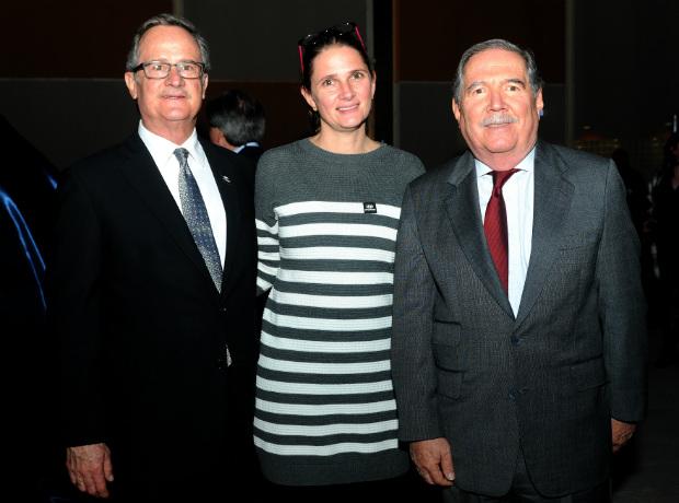 Eduardo Visbal, Tatiana Pretelt y Guillermo Botero.