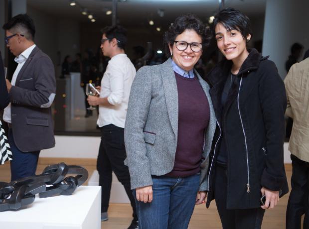 Fernanda Fernández y Eliana Orgeco.