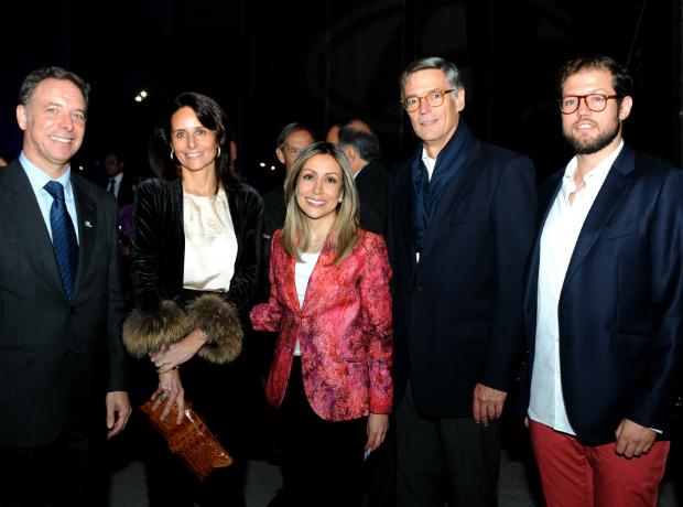 Manuel de la Cruz, Natividad García, Adriana Ruedo, Jaime Zawadzki y Jaime Eduardo Zawazki.