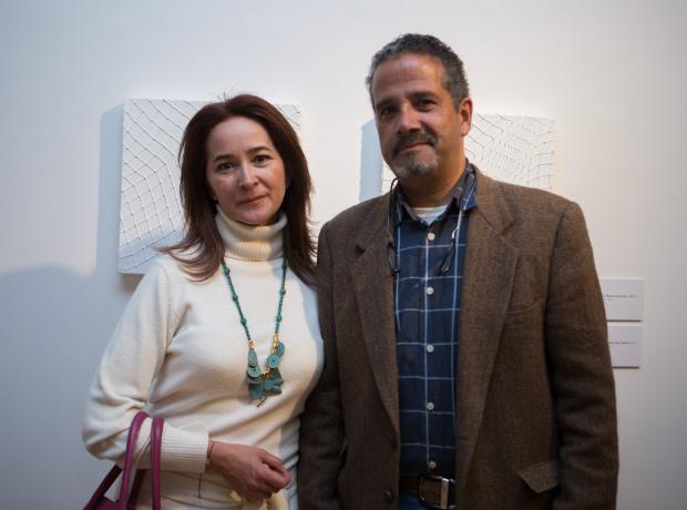 <div>Milena Montealegre y Diego Villegas.</div>