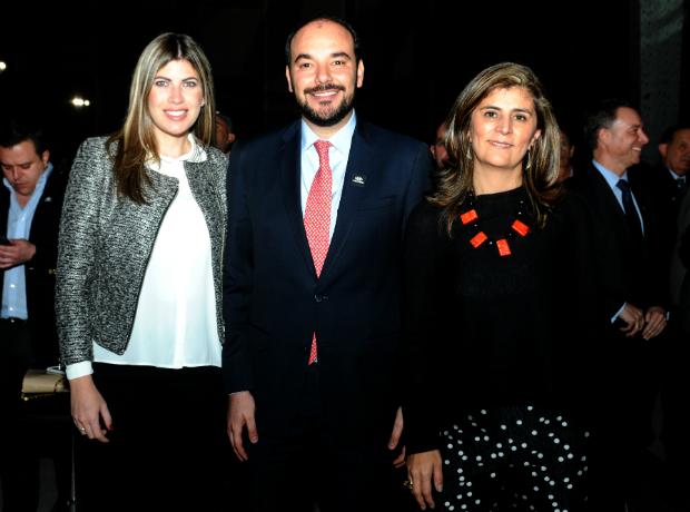 Natalie Millán, Horacio José Serpa y Laura Gil.