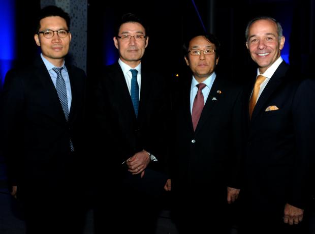 Paul Lee, chenny Park, Jang Myung Soo y Jorge Díaz del Castillo.