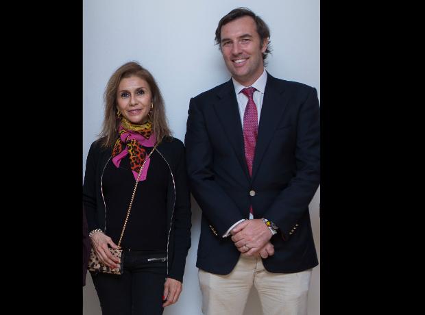 Viviana Barrios y Richard Mc Coll.