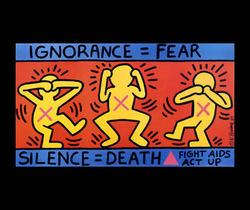 Ignorance = Fear, 1989