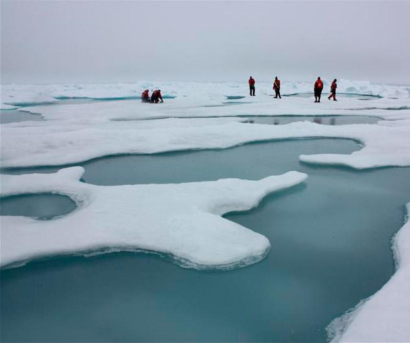Misión Icescape. Foto: NASA