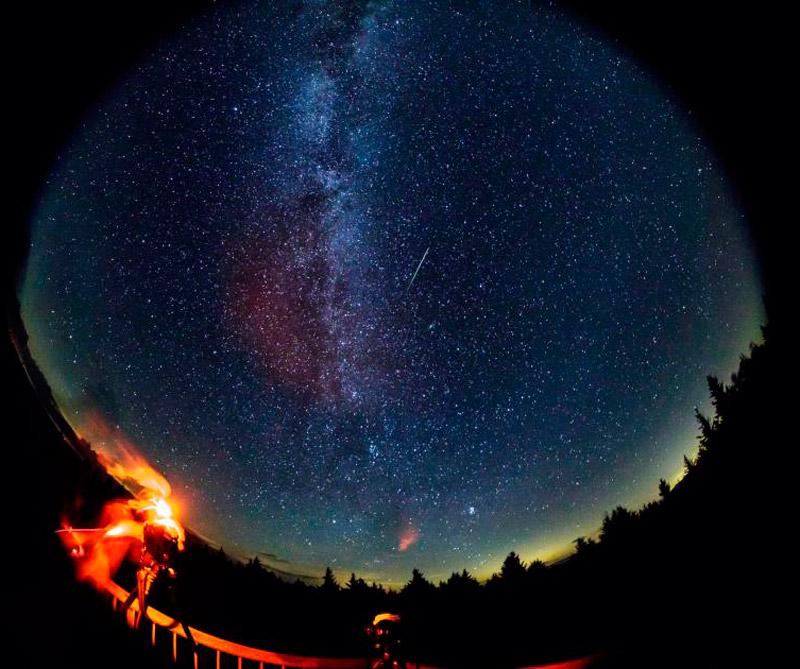 Meteoritos Perseid 3. Foto: NASA
