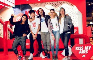 Cheryl Mesta, Camilo Castellanos, Felipe Ospina, Abril Schreiber y Daniela Mor.