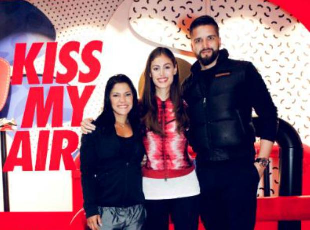 Cheryl Mesta, Helena Fadul y Camilo Sarmiento.