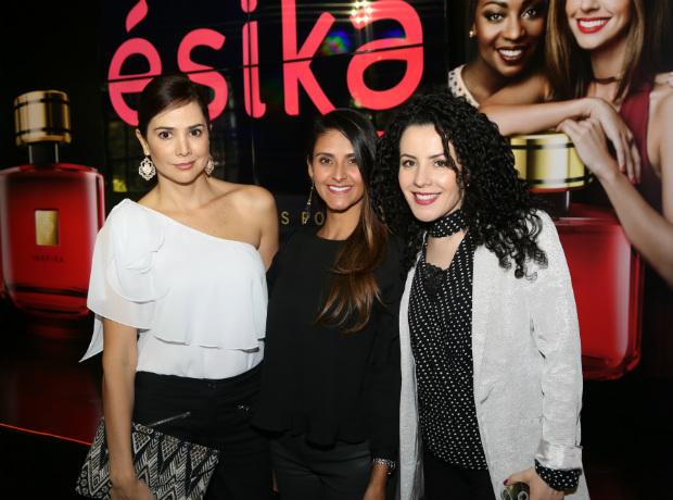 María Fernanda Navia, Rosario Gómez y Alice Gaviria.