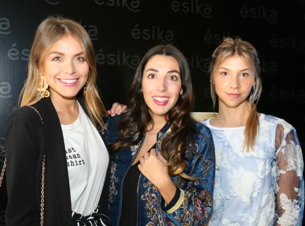 Natalia Castillo, Carolina Ordóñez y Daniela Moscarella.