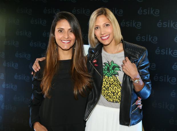 <div>Rosario Gómez e Isabel Salazar.</div>
