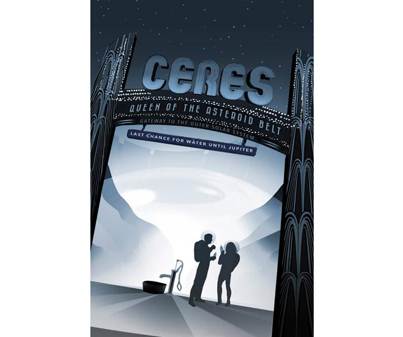 Ceres es el planeta enano más cercano al Sol. Es el objeto más grande en el cinturón de asteroides principal entre Marte y Júpiter, con un diámetro ecuatorial de cerca de 965 kilómetros.