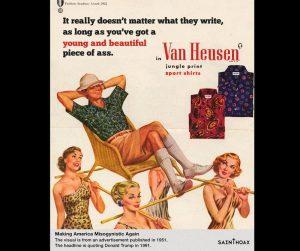 """""""No importa realmente lo que ellos escriban, siempre y cuando tengas un joven y hermoso trasero"""""""