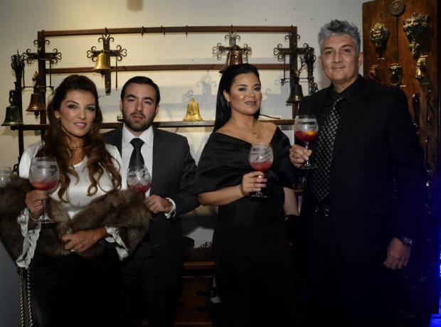 Liliana Silva, Alejandro Rada, Johana Quiroga y Javier Berrio