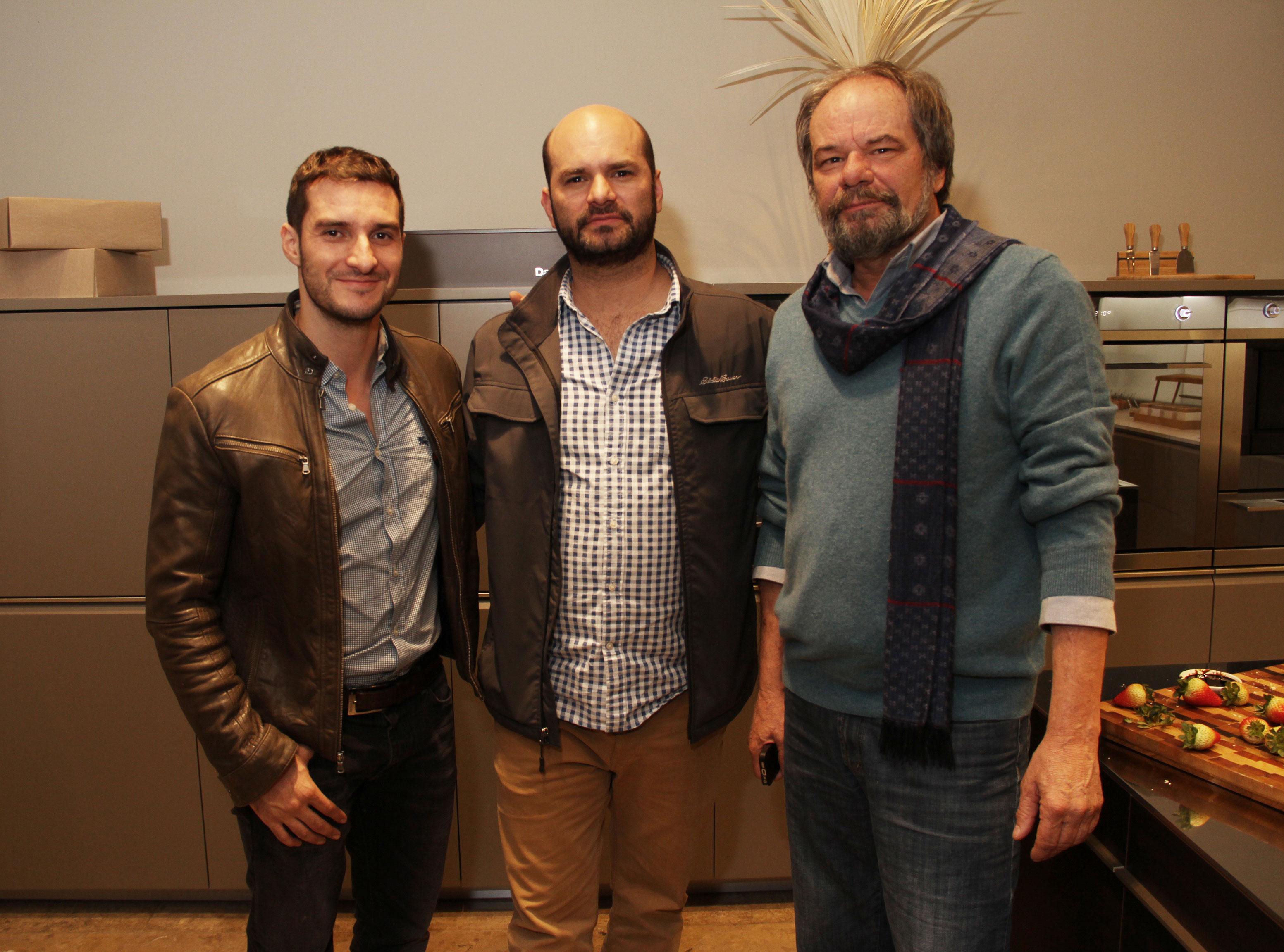 <div>André Kanayet, Lorenzo y Gabriel Mayoli</div>