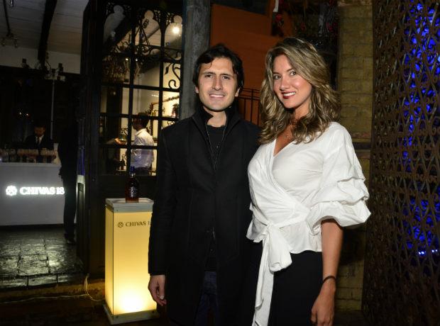 Joaquín Rodríguez y Daniela Álvarez