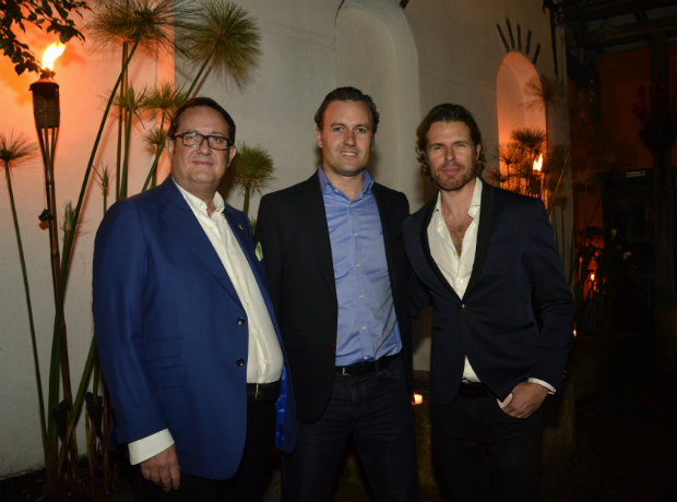 <div>Juan Carlos Fernández, Ixaca Garate y Miguel Such</div>