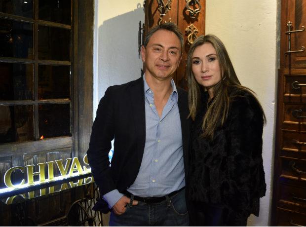 Mauricio Moreno y Jenny Jaramillo