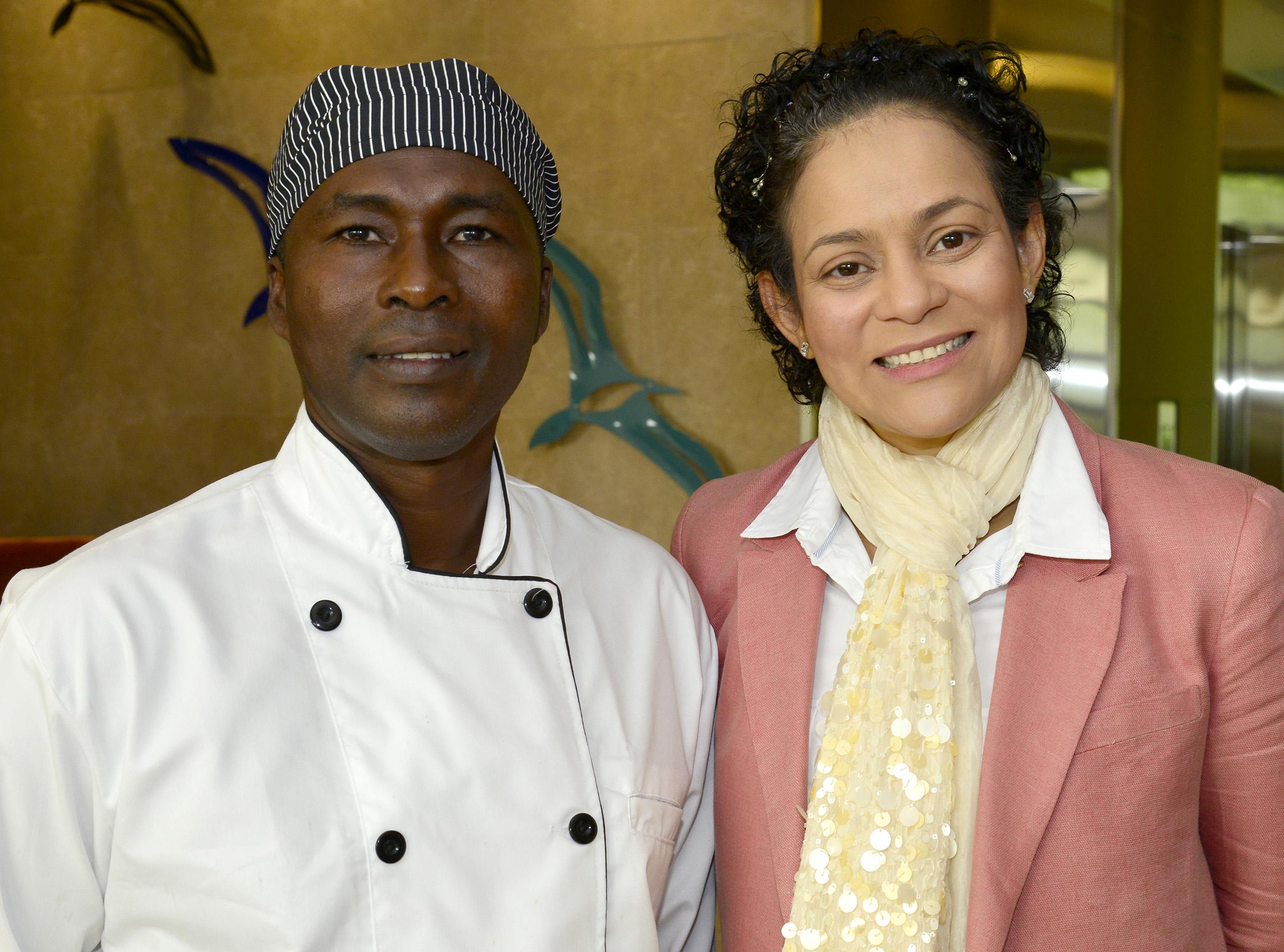 Fausto Moreno y Ester Bustamante