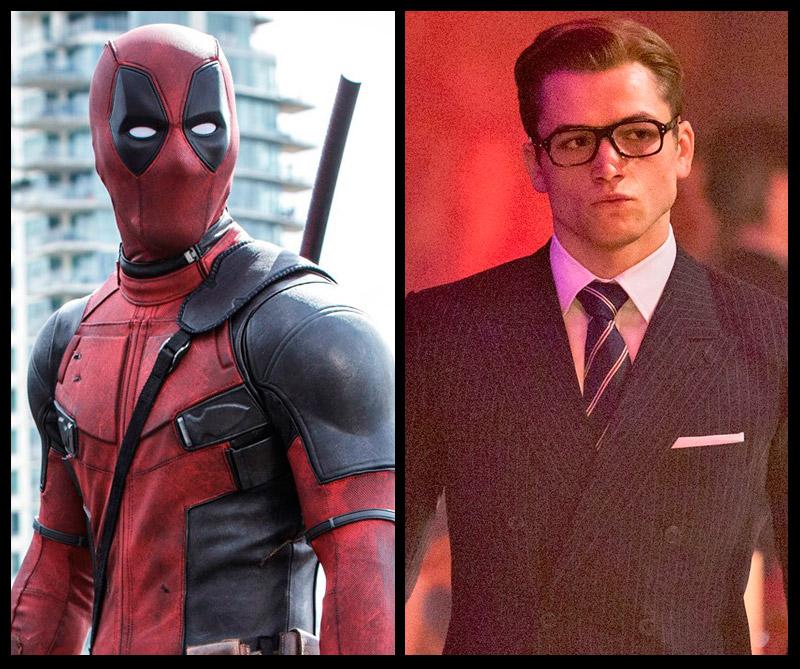 El antihéroe de Marvel y el agente del servicio secreto vuelven con más acción y detalles de sus secuelas.