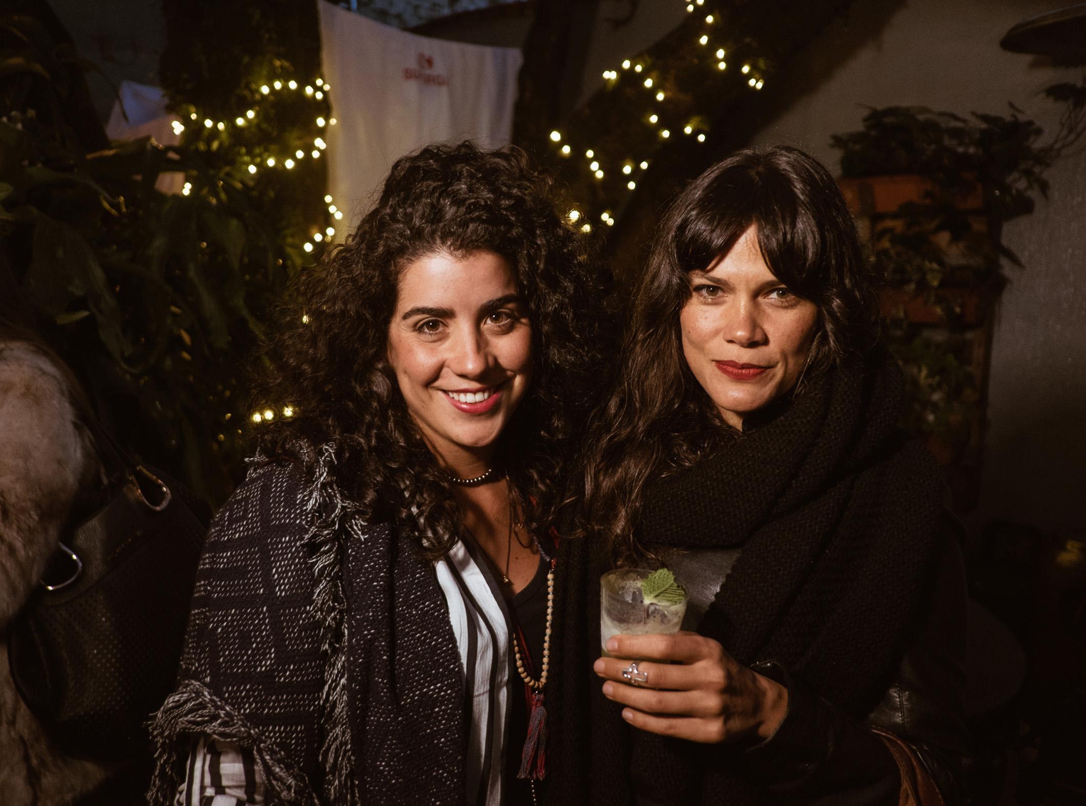 Vanesa Londoño y Valentina Gómez.