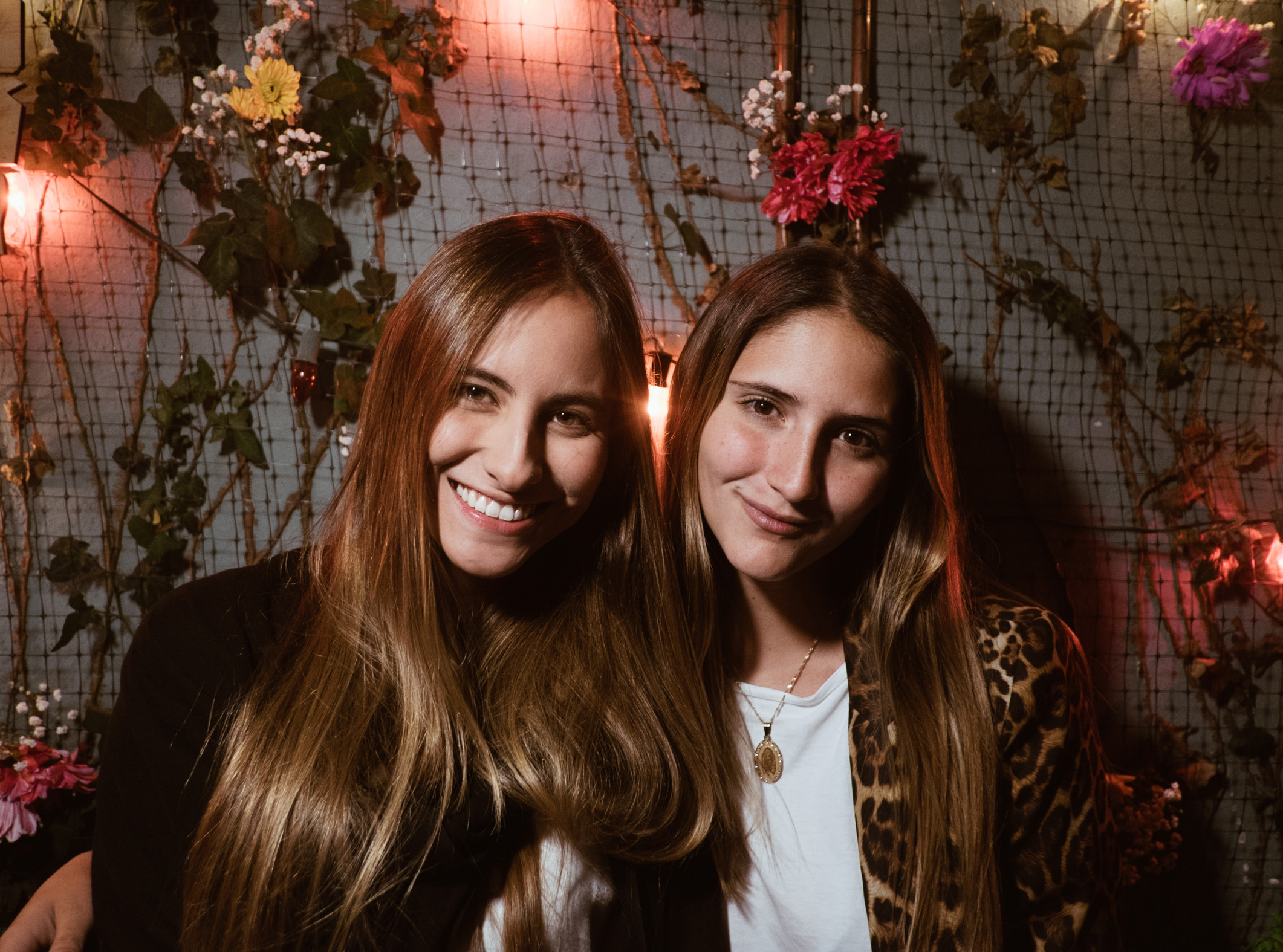 Isabella Moreno y María Alejandra Velilla.