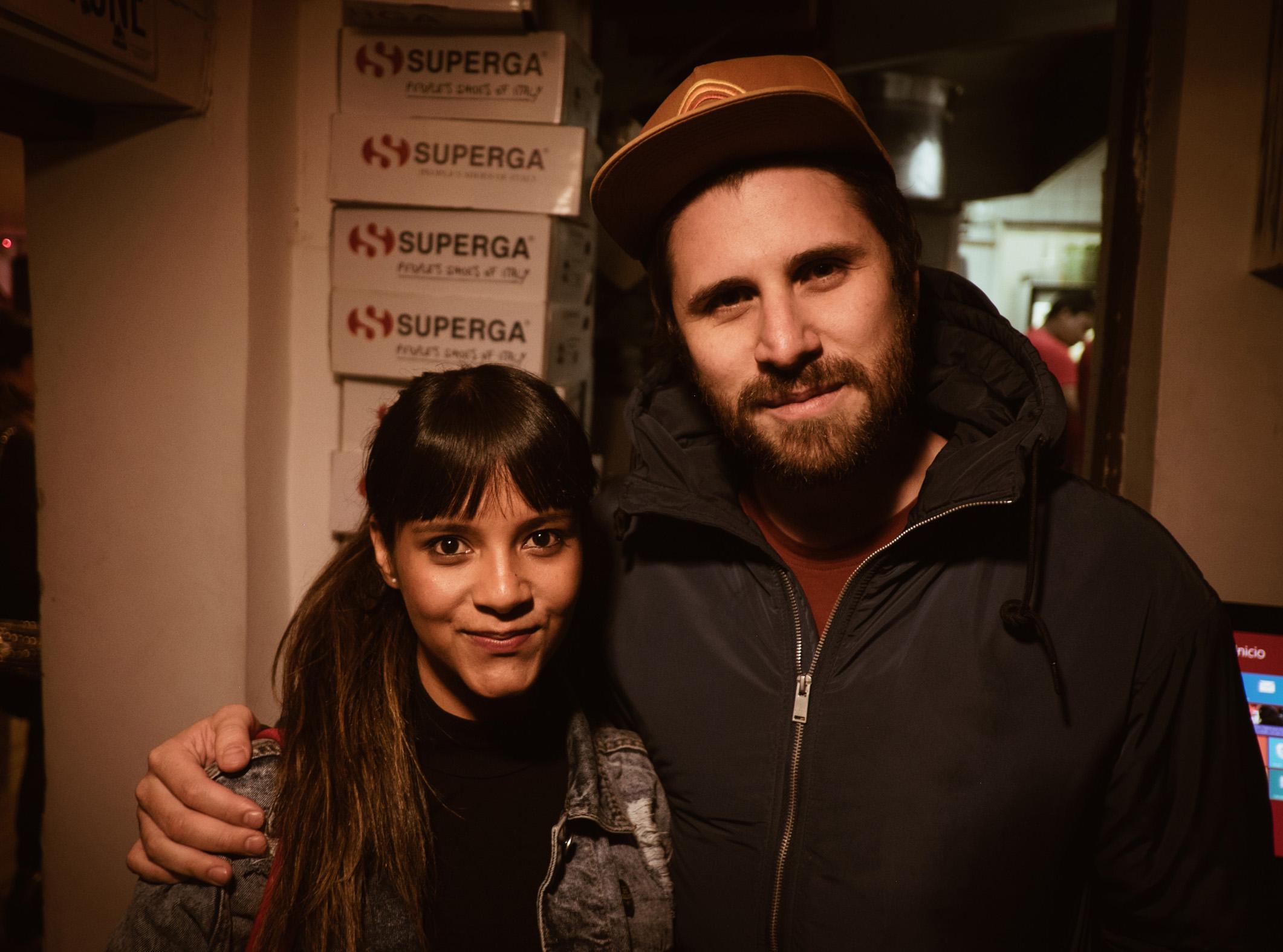 Nadia Orozco y Juan Pablo Vega.