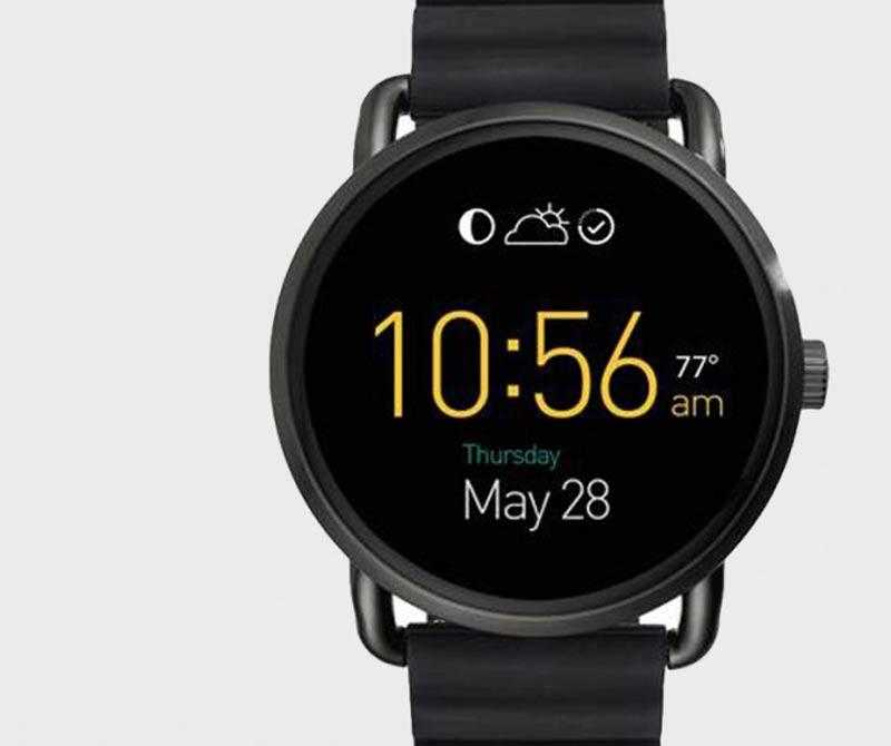 <div>Uno de los nuevos Smartwatch de la casa Fossil</div>