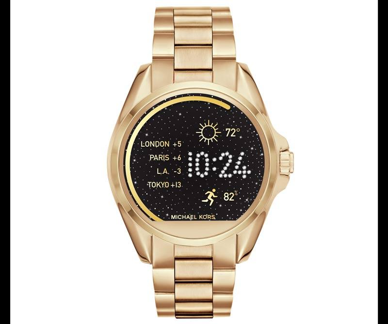 <div>Smartwatch con touchscreen, de Michael Kors</div>