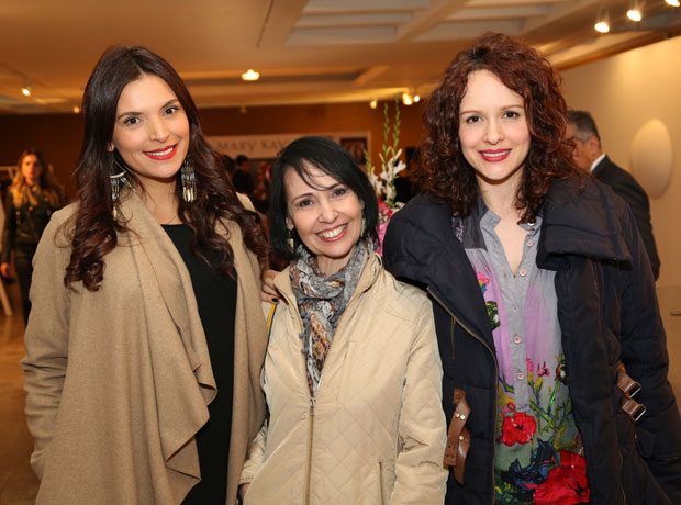 Margarita Reyes, Omaira Abanadé y Paula Barreto.