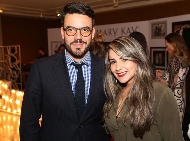 Alfredo Bolaños y Lina Cortés.
