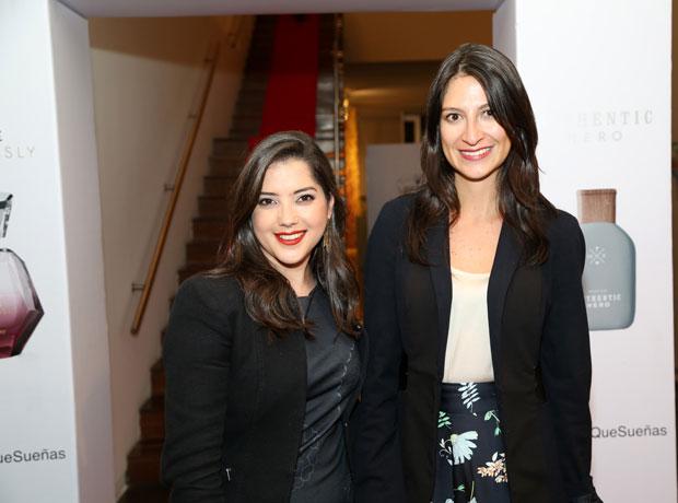 Alejandra Ariza y Valentina Rey.