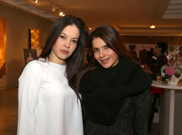 Coraima Torres y Adriana Silva.