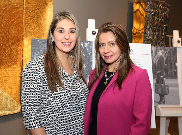 Viviana Vásquez y Antonia Canal.