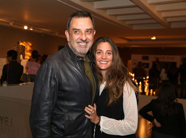 Francisco Ángel y Lisa Palomino.