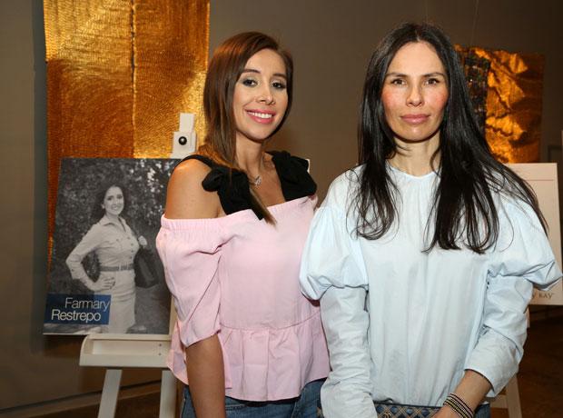 Catalina Mora y Catalina Gómez.