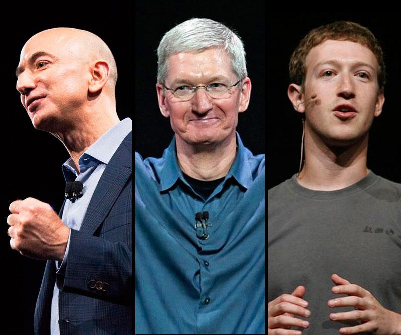 El primero en la lista no es Mark Zuckerberg, creador de Facebook; ni Tim Cook, presidente de Apple. ¿Quién será? descúbralo aquí.