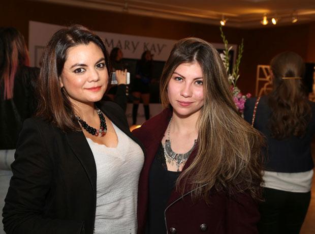 Jess Mutis y Laura Pinzón.